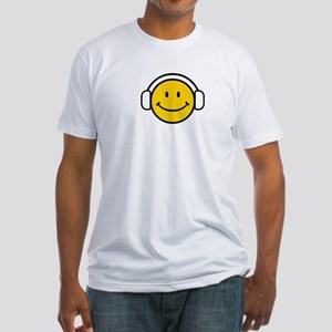 SMILE GROOVE Fitted T-Shirt