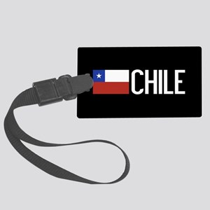 Chile: Chilean Flag & Chile Large Luggage Tag
