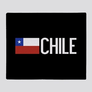 Chile: Chilean Flag & Chile Throw Blanket
