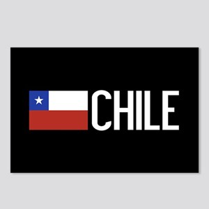 Chile: Chilean Flag & Chi Postcards (Package of 8)