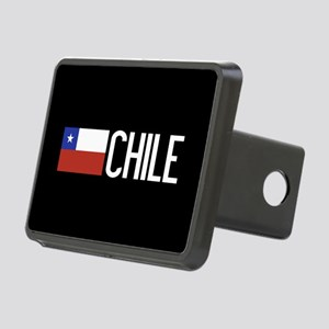 Chile: Chilean Flag & Chil Rectangular Hitch Cover