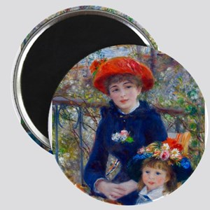 Renoir - Two Sisters Magnets