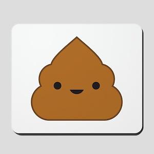 Kawaii Poop Mousepad