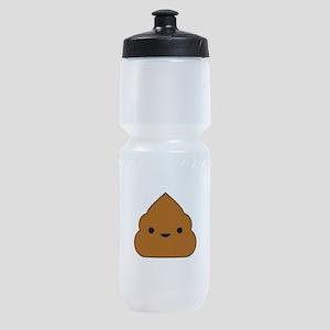 Kawaii Poop Sports Bottle