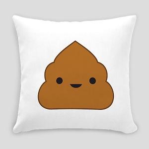 Kawaii Poop Everyday Pillow