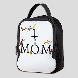 Best Dog Mom Neoprene Lunch Bag