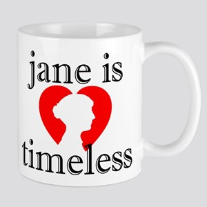 Jane is Timeless - Silhouette Mug