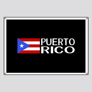 Puerto Rico: Puerto Rican Flag & Puerto Ric Banner