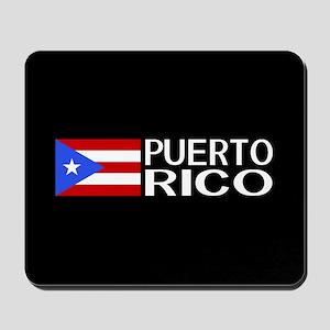 Puerto Rico: Puerto Rican Flag & Puerto Mousepad