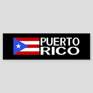 Puerto Rico: Puerto Rican Flag & Sticker (Bumper)