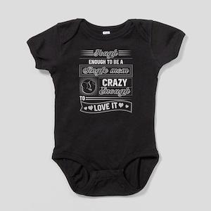 Tough Enough To Be A Single Mom T Shirt Body Suit