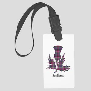 Thistle - Scotland Large Luggage Tag