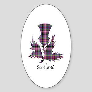 Thistle - Scotland Sticker (Oval)