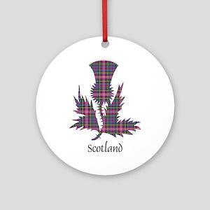 Thistle - Scotland Ornament (Round)