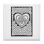 Celtic Knotwork Heart Decorative Tile