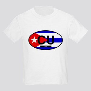 Cuba Full Flag Kids Light T-Shirt