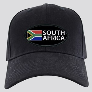 South Africa: South African Flag & South Black Cap