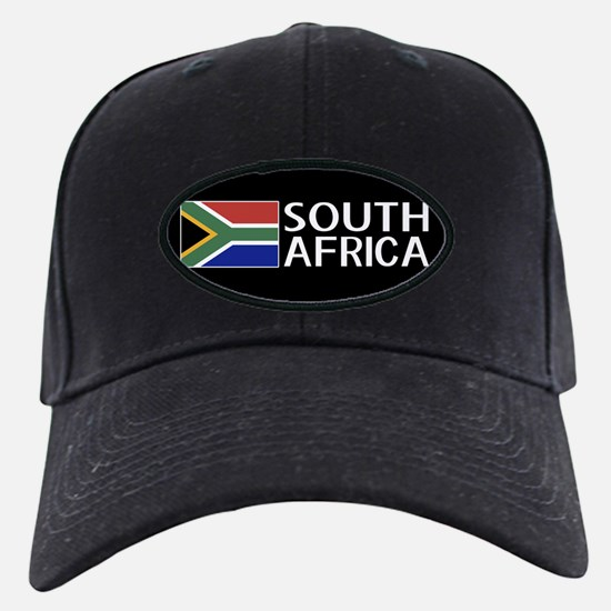 South Africa: South African Flag & South Baseball Hat