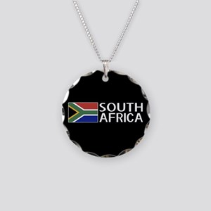 South Africa: South African Necklace Circle Charm