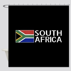 South Africa: South African Flag & Shower Curtain