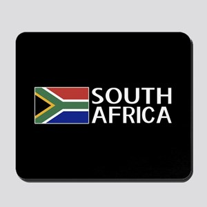 South Africa: South African Flag & South Mousepad