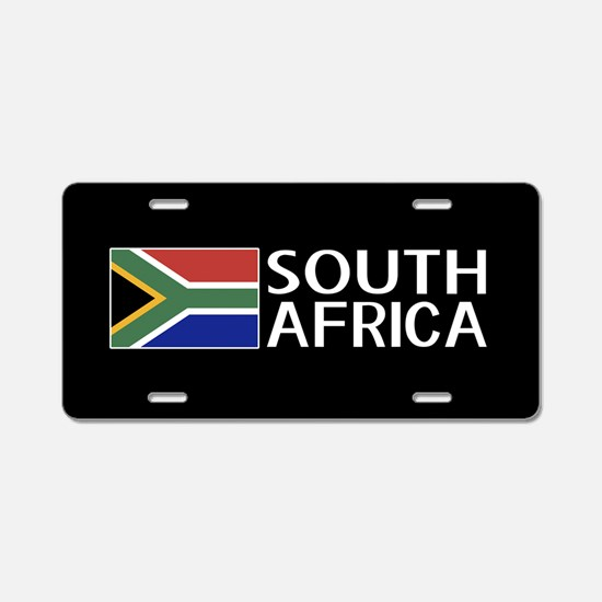 South Africa: South African Aluminum License Plate