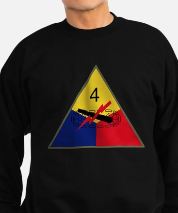 4th Armored Division.PNG Sweatshirt