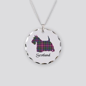 Terrier - Scotland Necklace Circle Charm