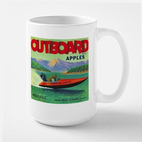 Outboard Apple - Vintage Crate Label Mugs