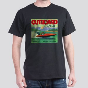 Outboard Apple - Vintage Crate Label T-Shirt