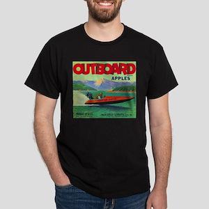 Outboard Apple - Vintage Crate Label T-Shirt