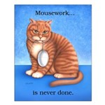 Mousework Small 16x20 Poster