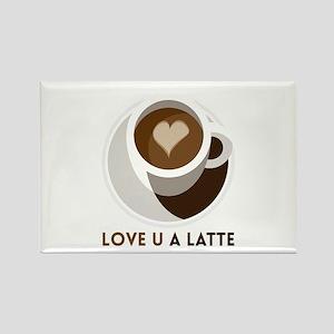 Love U a LATTE Magnets