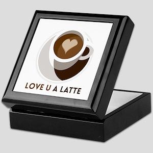 Love U a LATTE Keepsake Box