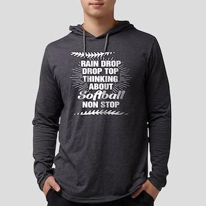 Softball T-Shirt Funny Softbal Long Sleeve T-Shirt