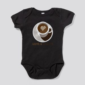 Love U a LATTE Baby Bodysuit