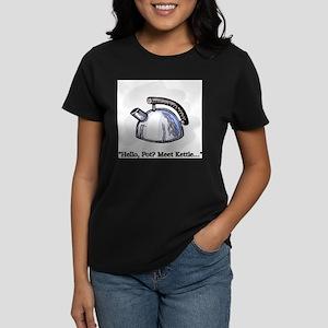 Hello Pot? Meet Kettle... Ash Grey T-Shirt