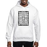 Celtic Knotwork Quasar Hooded Sweatshirt