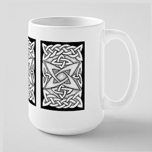 Celtic Knotwork Quasar Large Mug