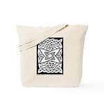Celtic Knotwork Quasar Tote Bag