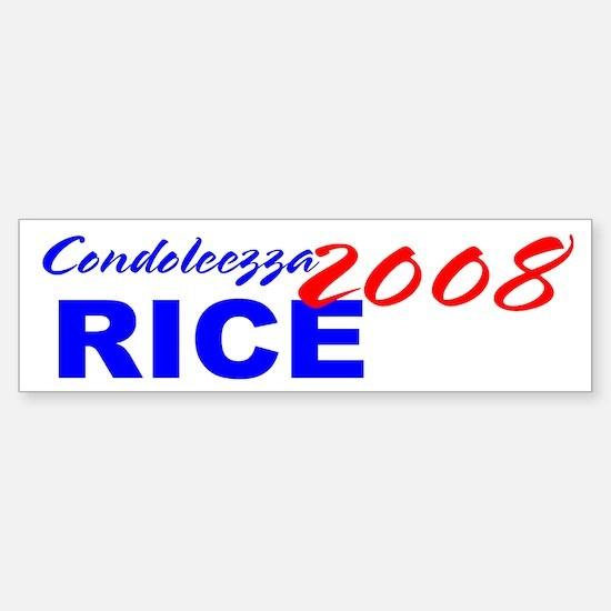 Condi for President, 2008 Bumper Bumper Bumper Sticker