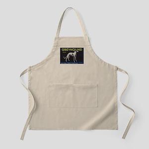 Greyhound Lemon - Vintage Crate Label Apron