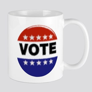 Elections-Vote-Button Mugs