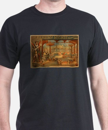 The Arabian Nights - Aladdin's Wonderful Lamp T-Sh