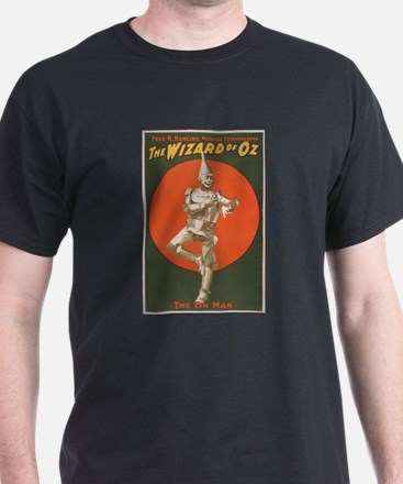 The Wizard of Oz Musical Theatre Poster T-Shirt