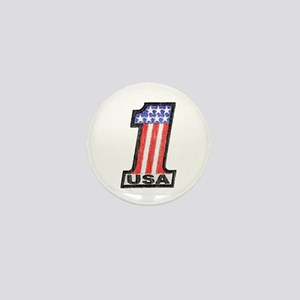 USA Number One Mini Button (100 pack)