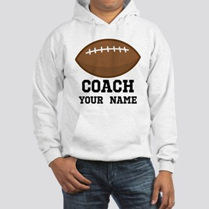 Personalized Football Coach Hoodie