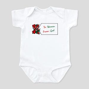 Gift to Women Infant Bodysuit