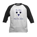 Help Us Smile Kids Baseball Jersey