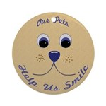 Help Us Smile Ornament (Round)